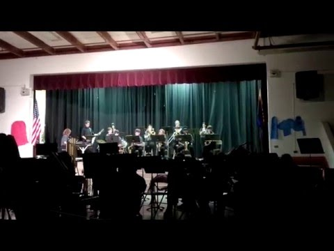 Connolly Middle School Jazz Band Christmas Concert 2015