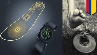 SaveOneLife: mine detector inside a shoe