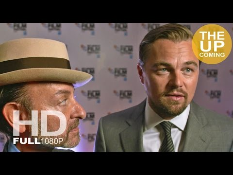 Before the Flood: Leonardo DiCaprio and Fisher Stevens  at London Film Festival