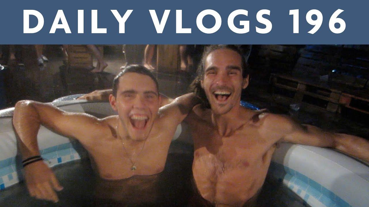 Alfie\'s 1,000,000 Sub Hot Tub Party   Louis Cole Daily Vlogs 196 ...