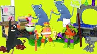 Черепашки Ниндзя Мультик TMNT Видео для детей Ninja Turtles #Игрушки для Мальчиков