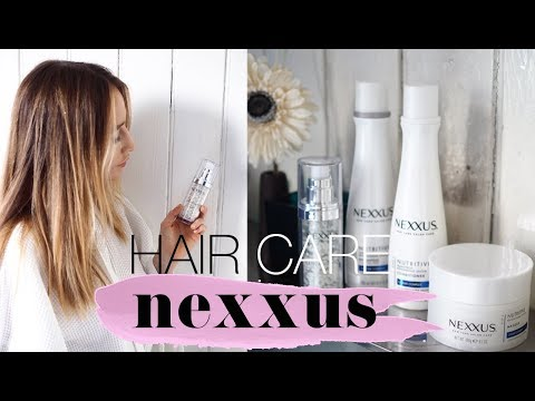 KEEPING MY HAIR HEALTHY WITH NEXXUS | AD