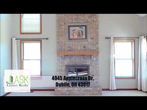 4945 Applecross Dr, Dublin, OH 43017  Presented by ASK Luxury Realty