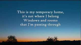 Carrie Underwood Temporary Home Instrumental with lyrics