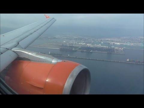 EasyJet Airbus A319-111 | London Gatwick to Gibraltar *Full Flight*