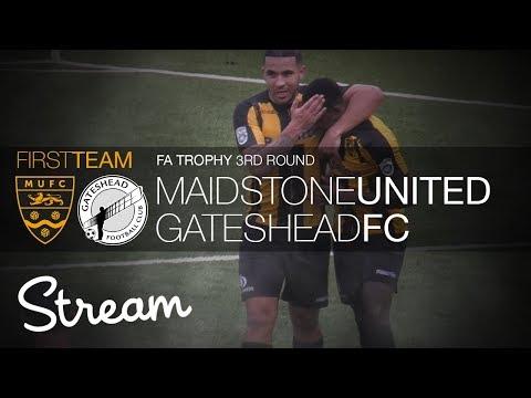 Maidstone United Vs Gateshead FC (03/02/18)