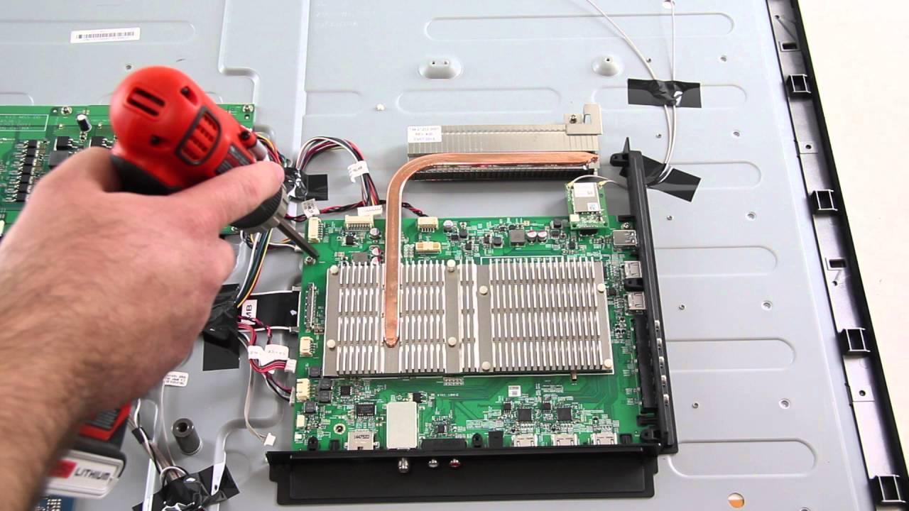 vizio m55 c2 main board replacement tutorial video youtube rh youtube com