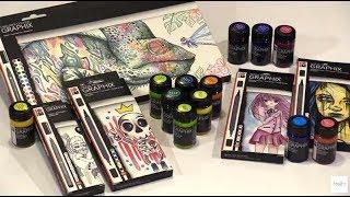 Marabu MEGA Sale & Demo: 50% Off Marabu Graphix Products by Joggles.com