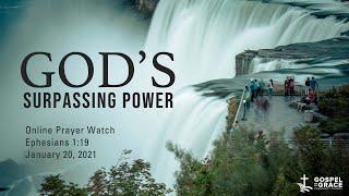 OPW — God's Surpassing Power | January 20, 2021