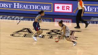 WNBA Top 10 Plays of August!