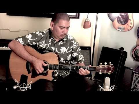 Beginning Slack-Key Guitar Lesson #2 - Curtis Kamiya Music