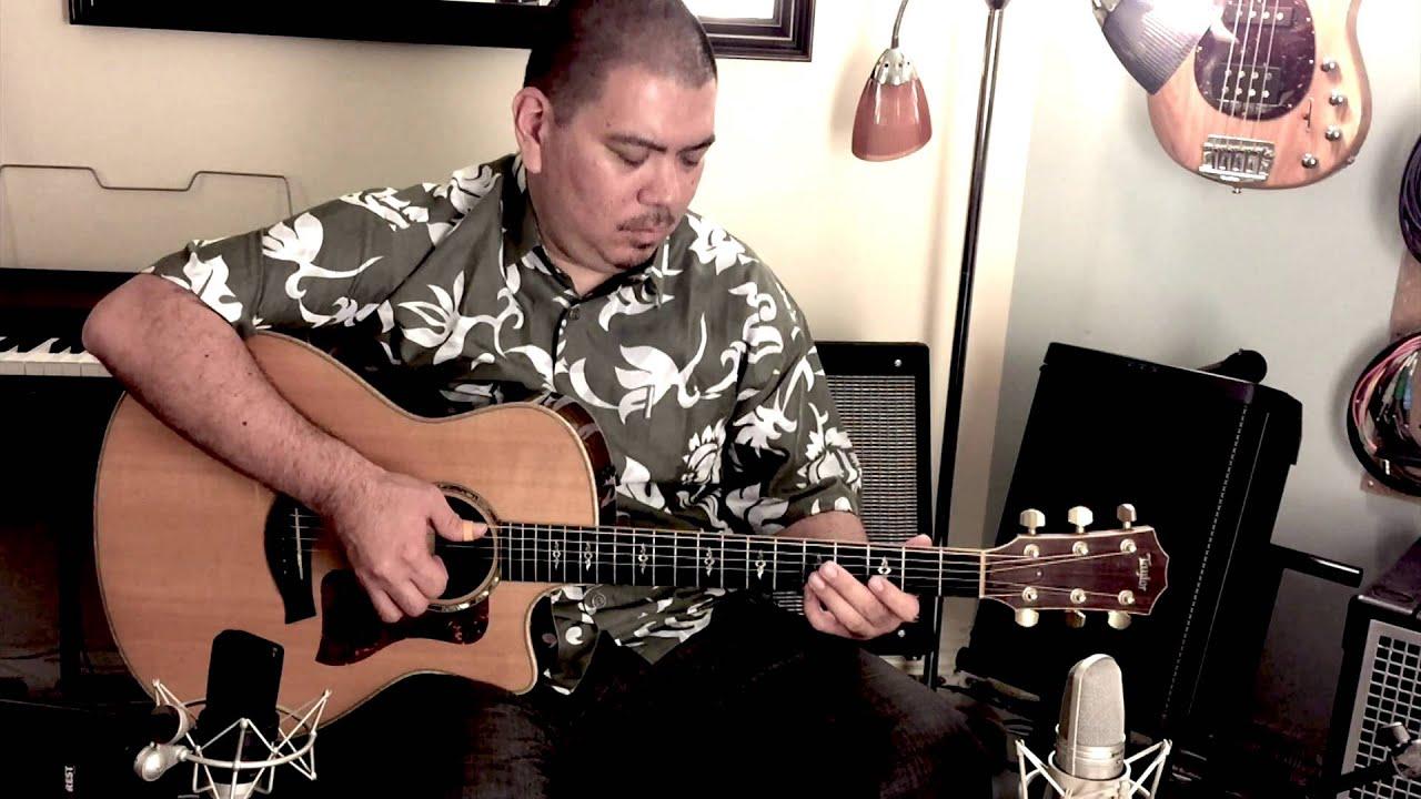 Beginning Slack Key Guitar Lesson 2 Curtis Kamiya Music Youtube