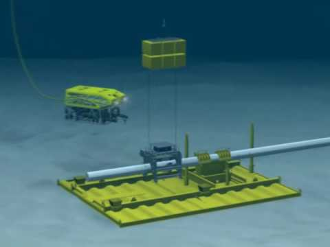 Oceaneering Deepwater Pipeline Repair with Horizontal Connection System