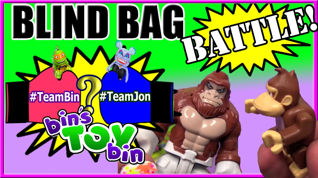 Blind Bag Battle 3 Gorilla Vs Gorilla Mario Iron Man