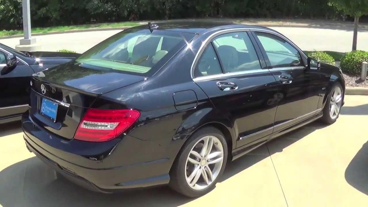2012 Mercedes Benz C250 Interior & Exterior Tour - YouTube