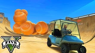 GTA 5 MODS - BEAT THE BALLS! RIDE THE BALLS! PLAY WITH BALLS! (GTA 5 Mods)