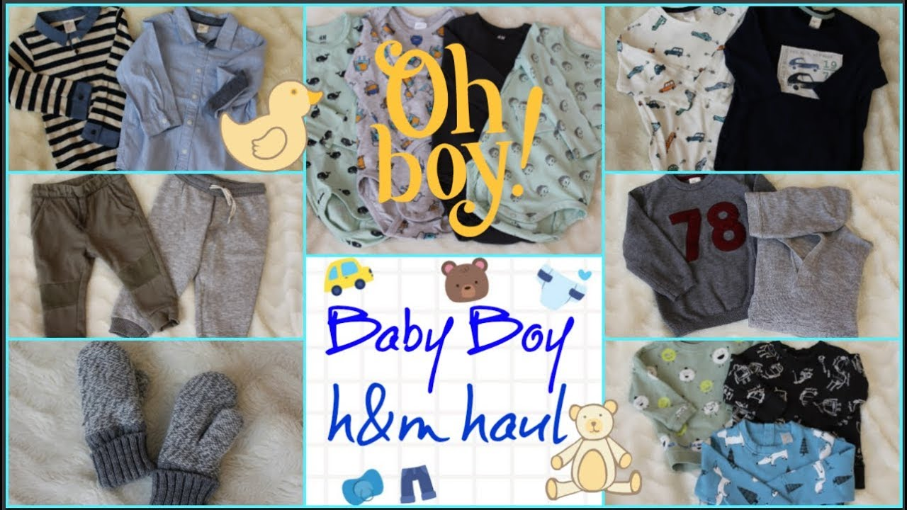 12cd4a654 TRENDY   BUDGET FRIENDLY H M BABY BOY CLOTHING HAUL - YouTube