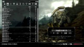 Skyrim Mod Sanctuary - Part 7 : SkyUI (Skyrim User Interface)