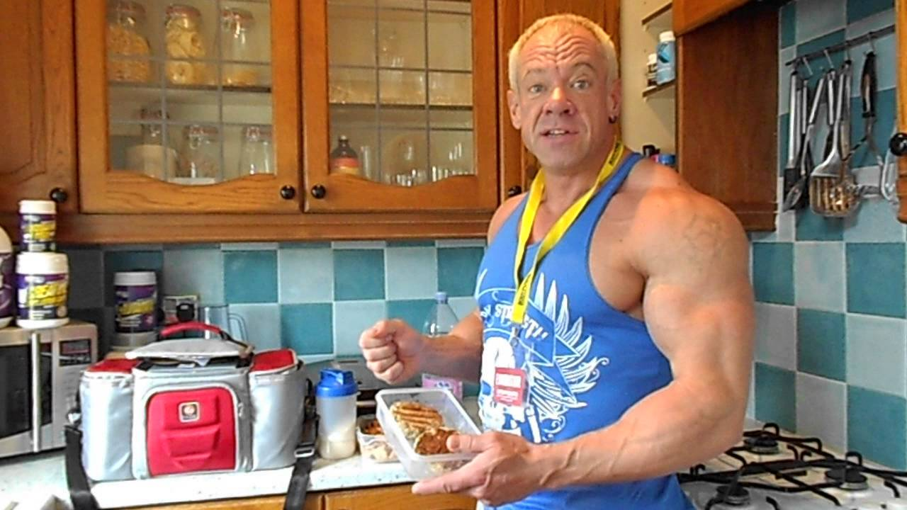 NABBA Mr Britain Masters Champion Steve Johnson BodyBuilder 13