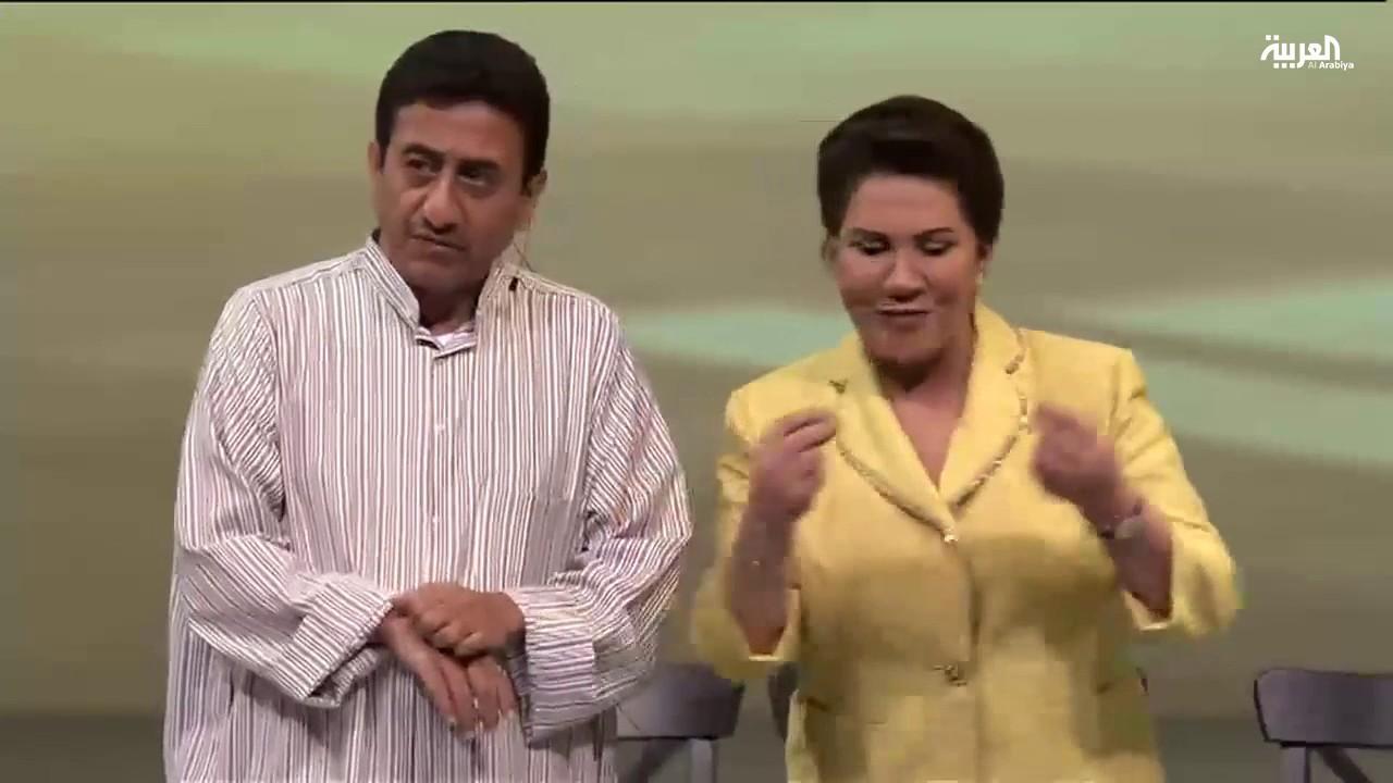 مشهد مسرحي لناصر القصبي وسعاد عبد الله Youtube