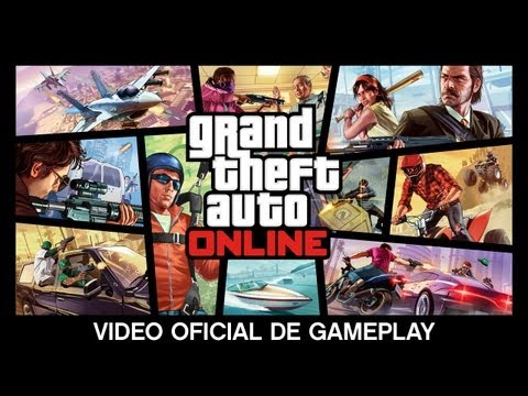 Grand Theft Auto Online: Video Oficial De Gameplay