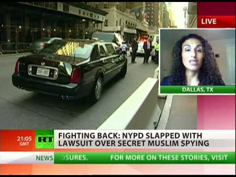 Muslims sue NYPD for illegal spying