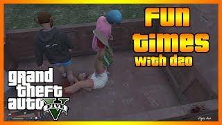 Fun Times on GTA 5 (Dump Truck Madness)