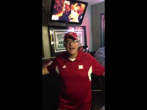 Nebraska Fan doing a I'm a man I'm 40 monologue
