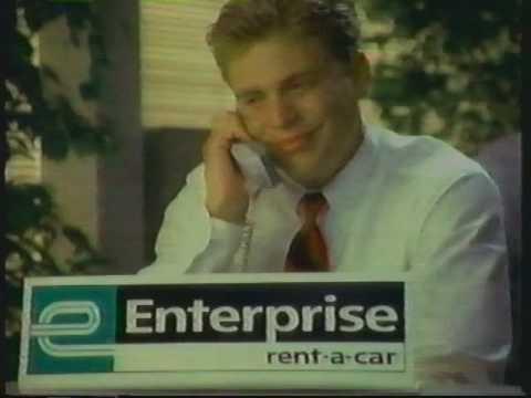 1995 Enterprise Car Rental Commercial | We'll Pick You Up