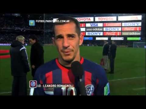 "Romagnoli: ""Partido digno"". Real Madrid 2 -San Lorenzo 0. Final. Mundial de Clubes. FPT."