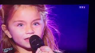 Valentina - The voice kids -7 ans