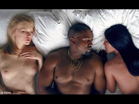 Kanye Wests Famous video features a naked Taylor Swift