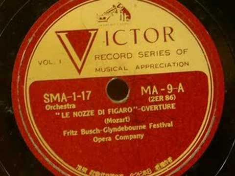 Glyndebourne Fest.Opera Co. w/Busch - La Nozze di Figaro Ov.