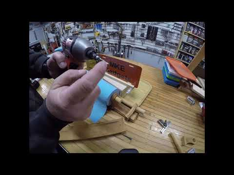 DIY Repurposing to make a Shop Paper Towel Rack @ MKE Gadgets #32