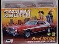 Starsky & Hutch tv show  kit model ford torino  revell video part 2