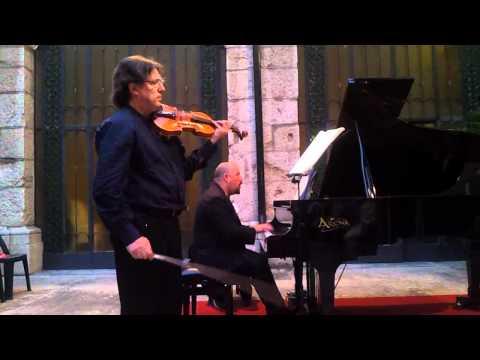 Franco Mezzena - David Boldrini | Mozart sonata KV 304 (II parte)