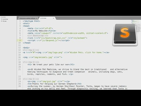 How to change the Font and theme of Sublime Text