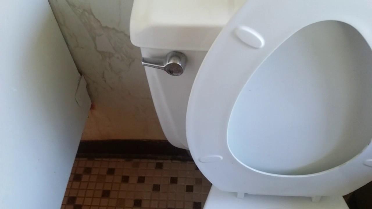 144. American Standard Cadet Toilet & Gerber Urinal - YouTube