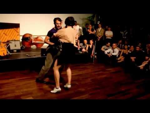 Jazz Roots Dance Festival Paris 2012 - Sharon Davis & Juan Villafane Social Dancing