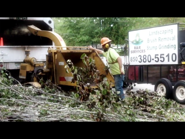 Vermeer Bc935 Wood Chipper (clip 2)