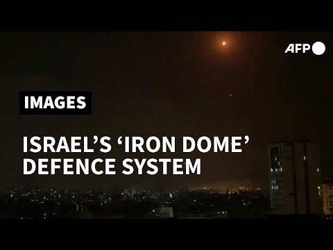 Israel air defence system intercepts rockets launched from Gaza | AFP