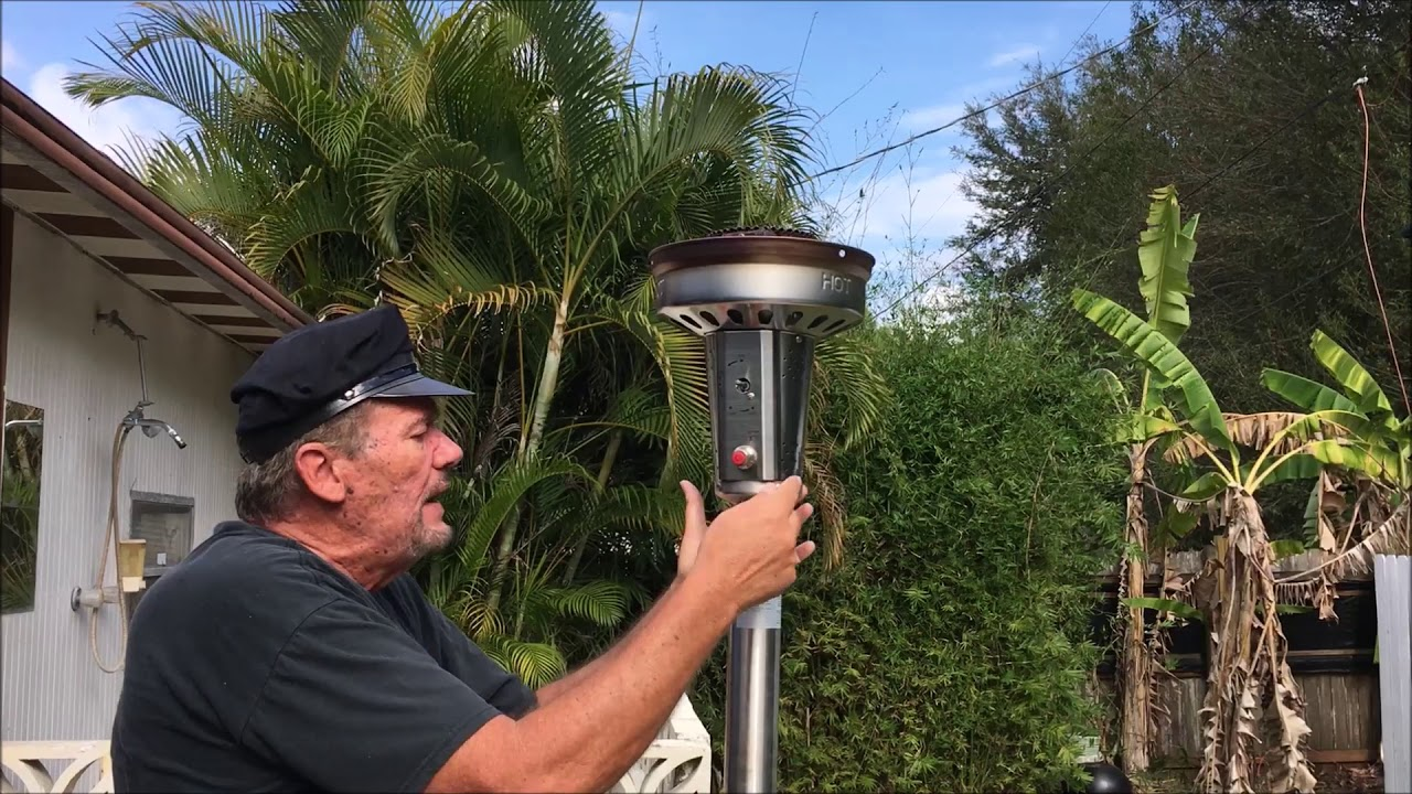 Patio Heater Won T Light And Stay Lit Youtube