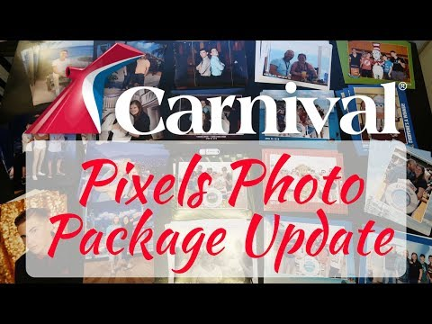 Carnival Cruise Line: Pixels Photo Packages Update