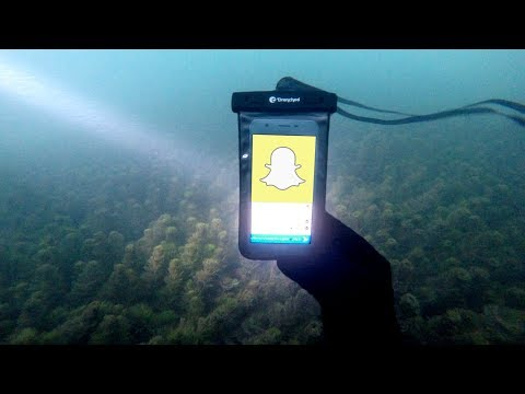 Found Phone Underwater With Snapchat Still On Screen