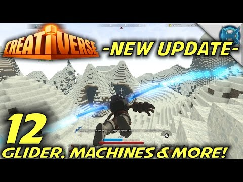 "Creativerse -Ep. 12- ""HUGE Update, Glider, Machines & More"" -Let's Play Creativerse Gameplay-(S2)"
