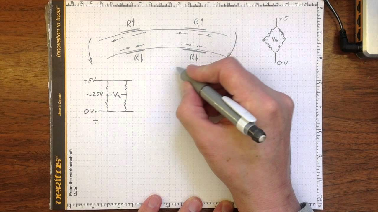 hight resolution of load cell bridge circuit