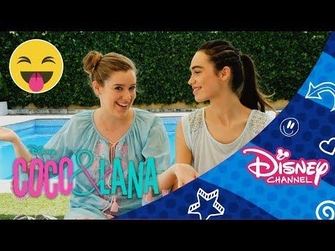 Coco & Lana: ¡El mejor juego del mundo! | Verdad o Reto + ¡Piscina! | Disney Channel Oficial