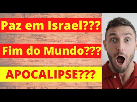 PAZ EM ISRAEL??? FIM DO MUNDO??? ACORDO DE PAZ - Entenda... | Prof. Renato Santos
