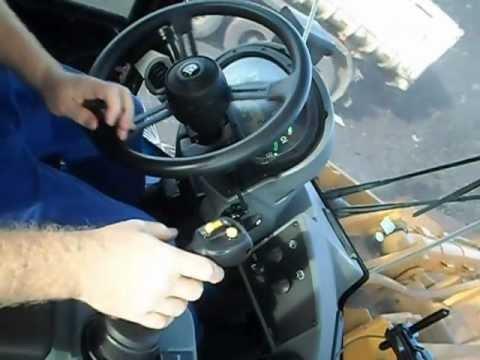 Remove Broken Bolt >> CAT 938H, visão interna da cabine - YouTube