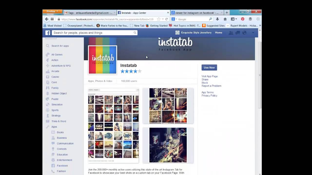 How to add instagram tab to facebook business page youtube ccuart Gallery